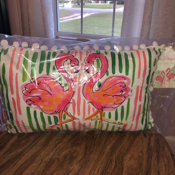 Lilly Pulitzer Other - Lilly Pulitzer Flamingo Pillow